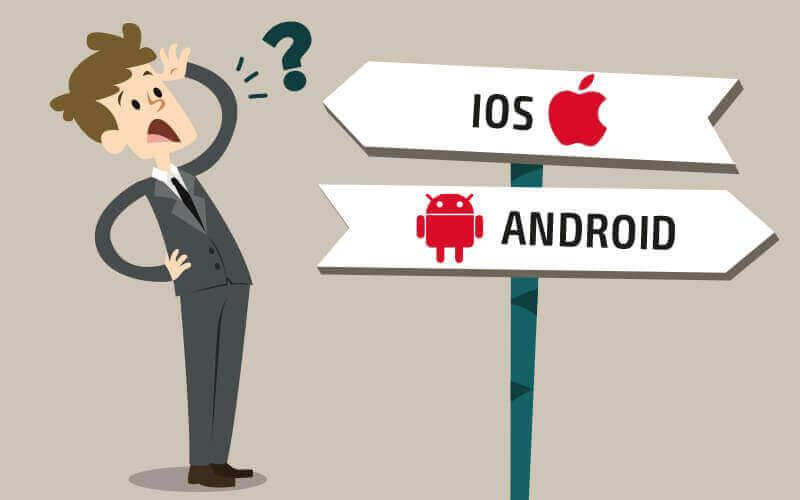 Android или iOS? Какую платформу выбрать для разработки мобильного приложения